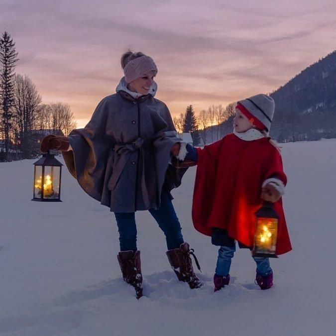 Weihnacht – Enkelkinder -Elena u. Valentin