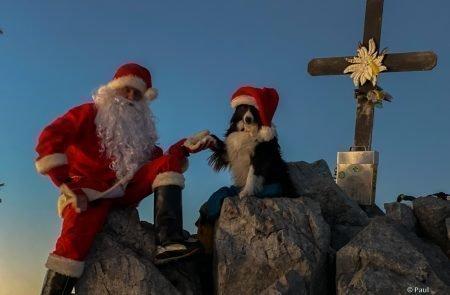 Weihnachtsmann am Admonter Kalbling10