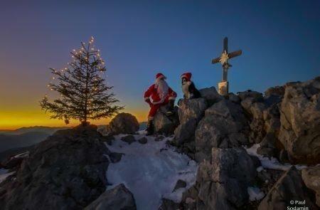 Weihnachtsmann am Admonter Kalbling11