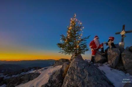 Weihnachtsmann am Admonter Kalbling13