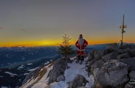 Weihnachtsmann am Admonter Kalbling14