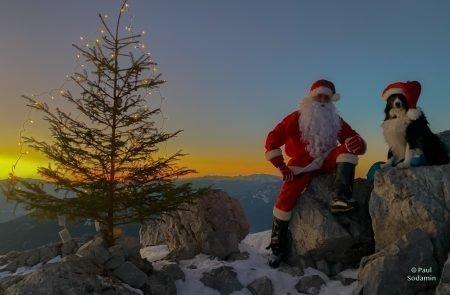 Weihnachtsmann am Admonter Kalbling15
