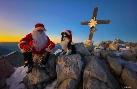 Weihnachtsmann am Admonter Kalbling6