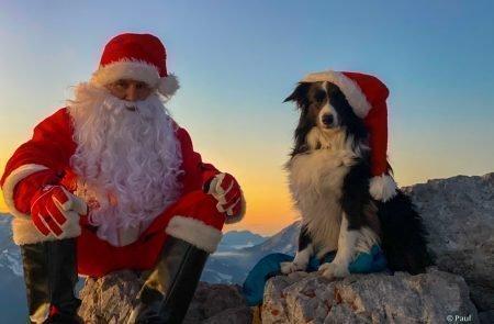 Weihnachtsmann am Admonter Kalbling7