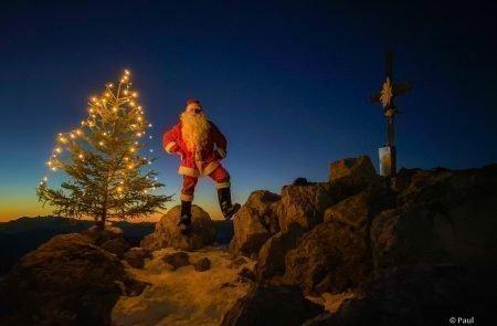 Weihnachtsmann am Admonter Kalbling8