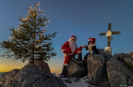 Weihnachtsmann am Admonter Kalbling9