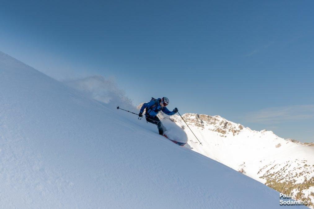 Schitour Weisseck 2711m , der höchste in den Radstädter Tauern